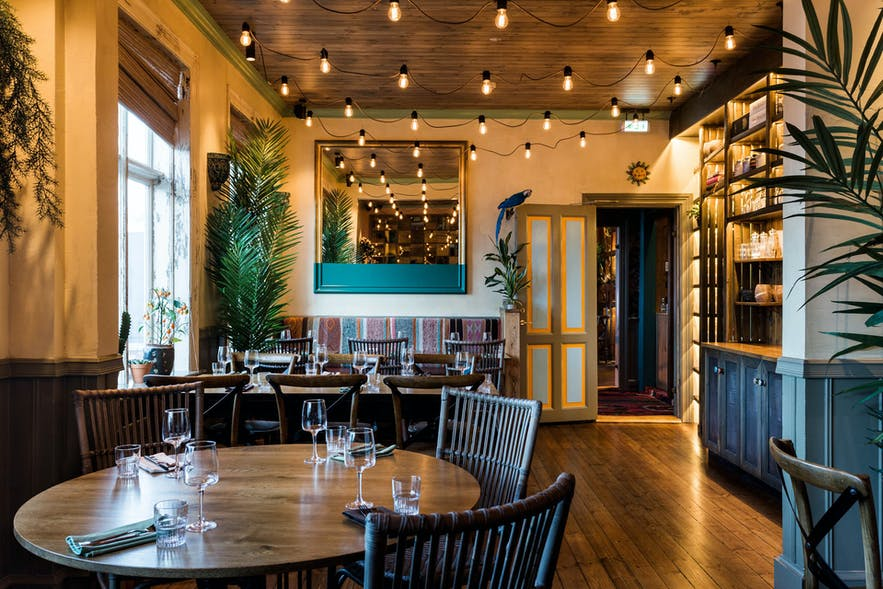 The decor of Burro and Pablo Discobar is a treat of its own