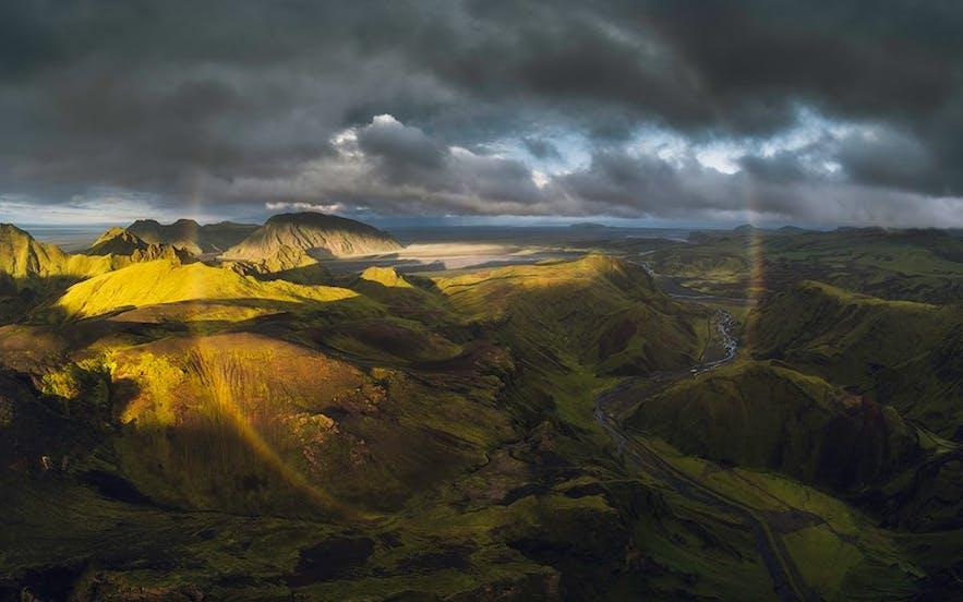 Islands højland er i de fleste tilfælde kun farbart fra slutningen af juni til september.