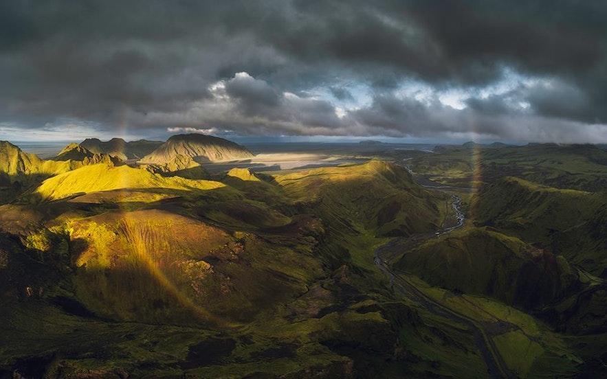 Las Tierras Altas de Islandia solo son accesibles desde finales de junio hasta septiembre en la mayoría de los casos.