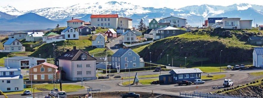 冰岛西部斯奈山半岛白日梦想家