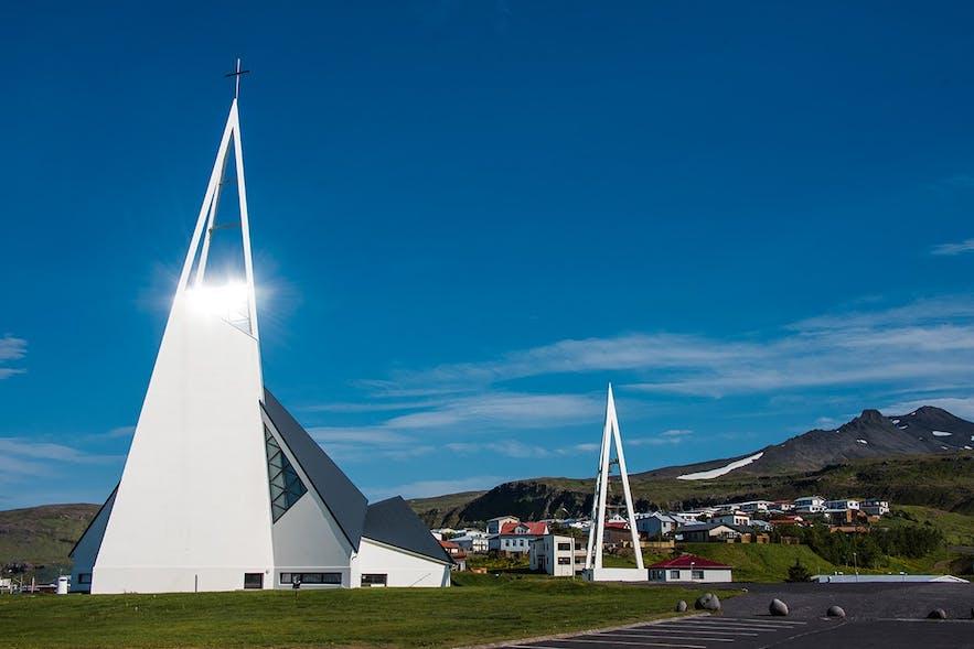 冰岛西部斯奈山半岛住宿的游记