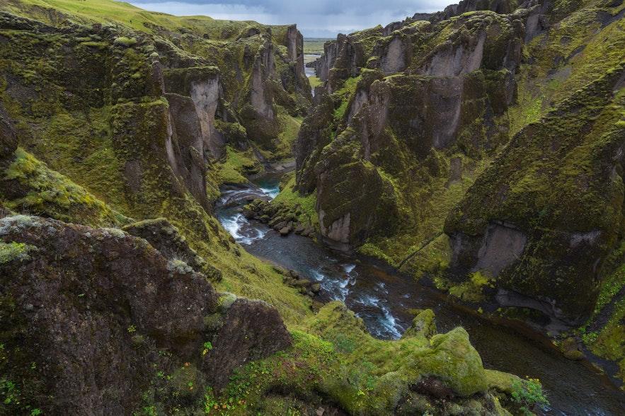 冰岛小众景点-羽毛峡谷Fjadrargljufur