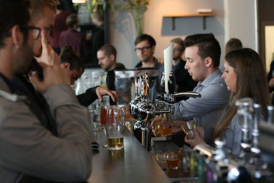 Pub w Reykjaviku