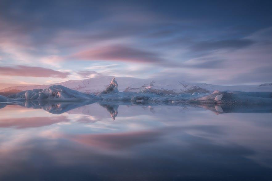 冰岛十大必去景点第一名-杰古沙龙冰河湖