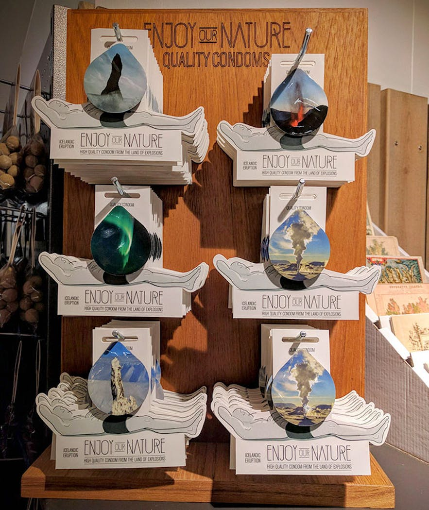 There are six types of Nature Condom, representing different parts of the country.