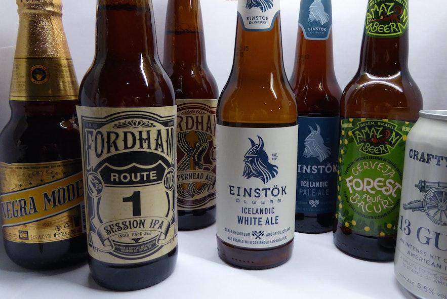 アイスランド人に愛されているEinstökのビール