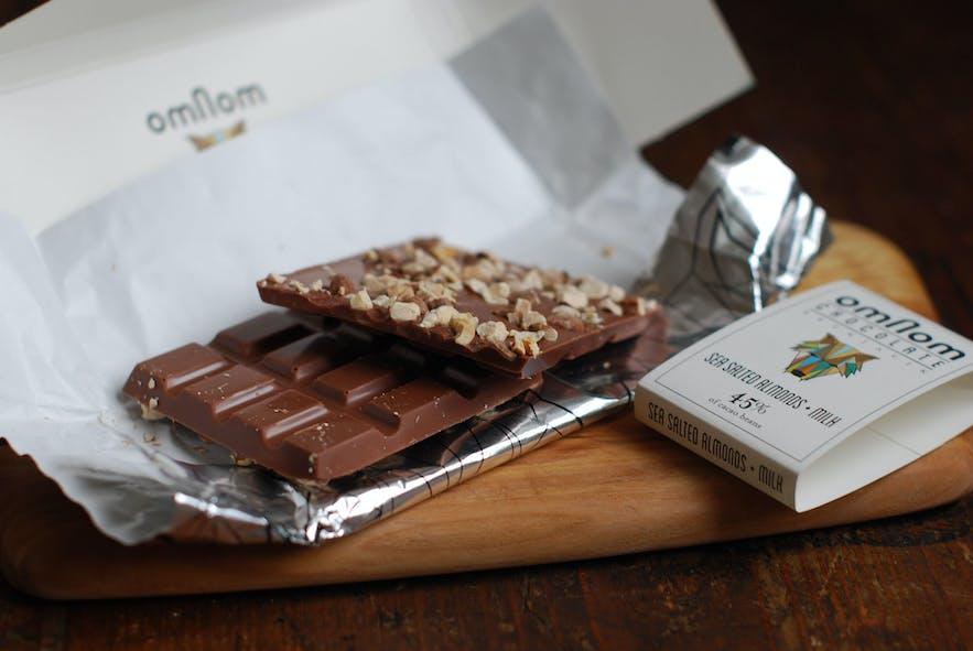 冰岛网红巧克力品牌omNom