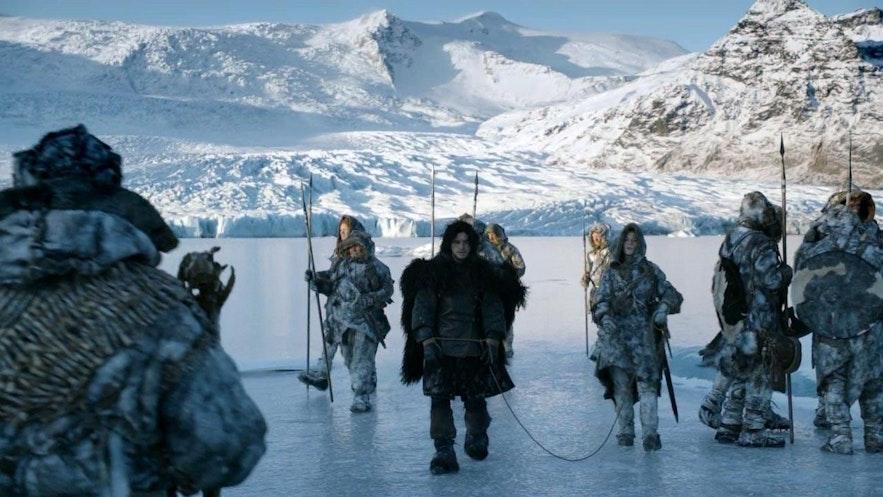 权力的游戏冰岛取景地-墙外风光
