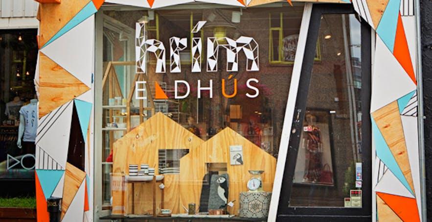 The front of Hrím in downtown Reykjavík. Photo courtesy of hrím.is