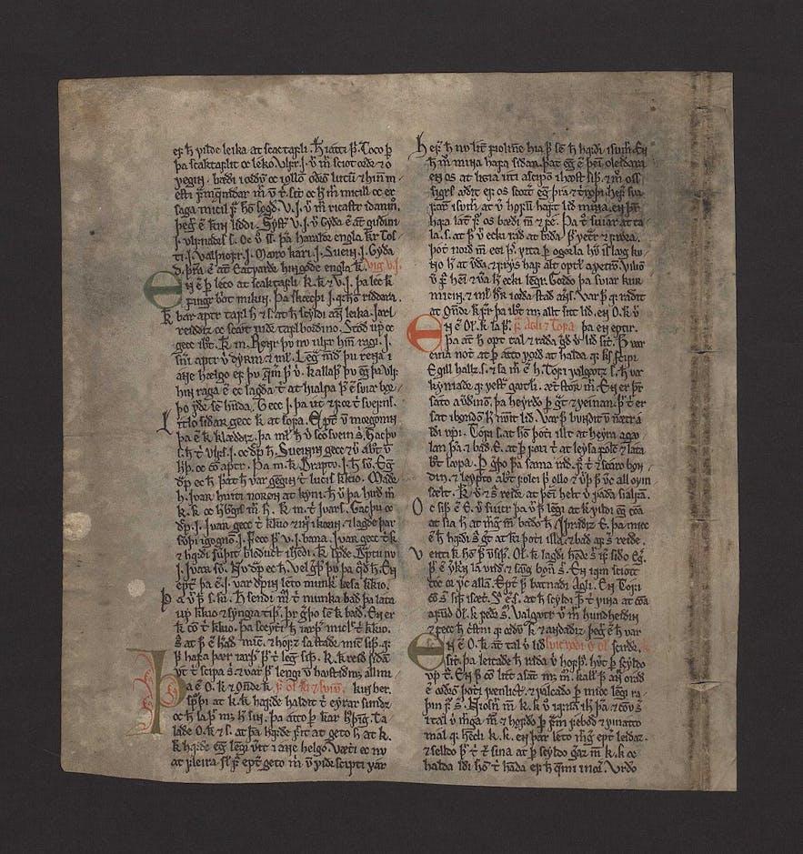 冰岛萨迦故事历史悠久