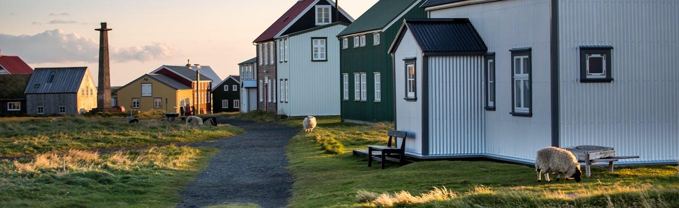 아이슬란드의 5대 섬