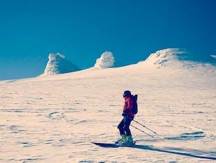 Downhill Skiing Adventure | Snaefellsjokull Glacier