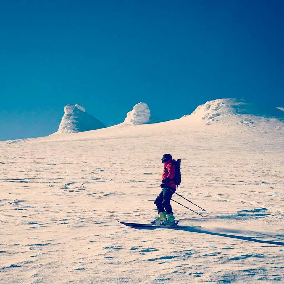 Downhill Skiing Adventure | Snæfellsjökull Glacier