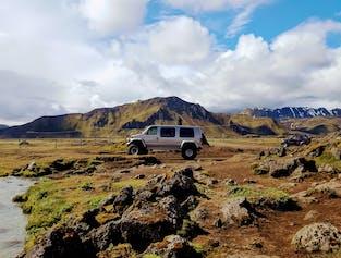 Landmannalaugar & Hekla Volcano Super Jeep Tour