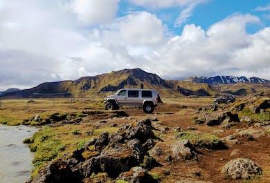 Ландманналёйгар и вулкан Хекла | Тур на супер-джипах