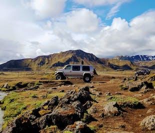 Tour en Super Jeep a Landmannalaugar y el volcán Hekla
