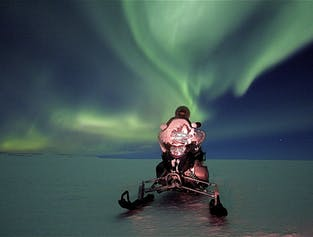 Top Of The World Tour | Northern Lights & Snowmobile