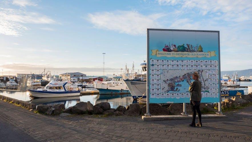 Une promenade le long du port est gratuite