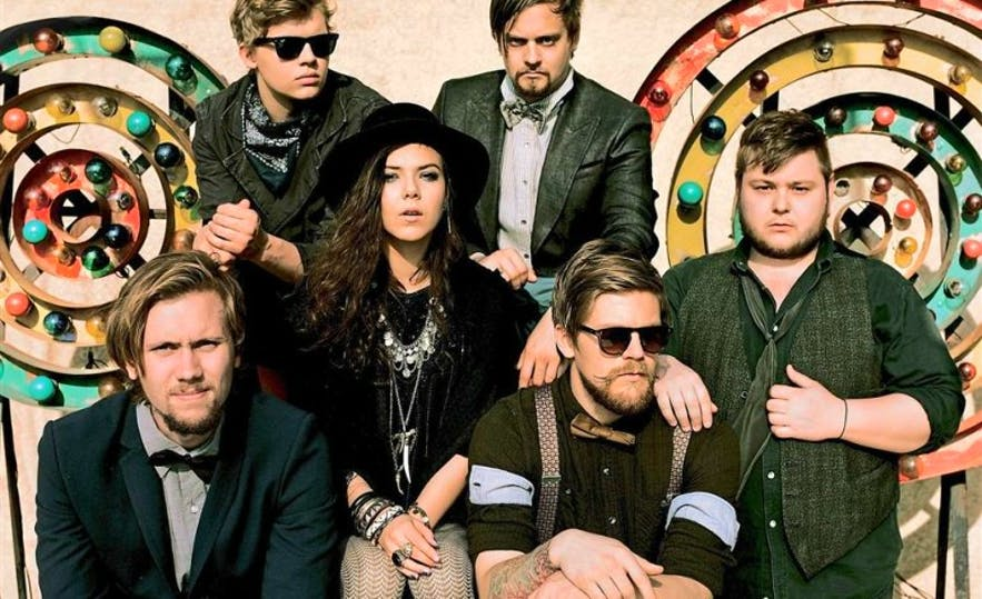 Of Monsters and Men are a popular Icelandic band who have made waves with fans overseas.