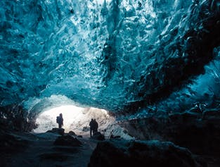 The Crystal Ice Cave Tour