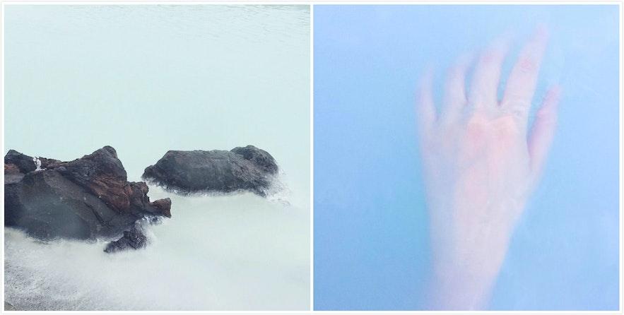 冰岛蓝湖温泉颜色如梦境一般