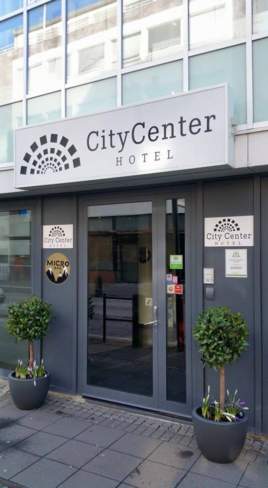 City Center Hotel is right in the middle of the downtown area.
