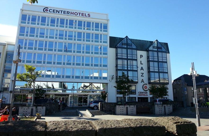 Centerhotel Plaza is the largest of the six in Reykjavík.