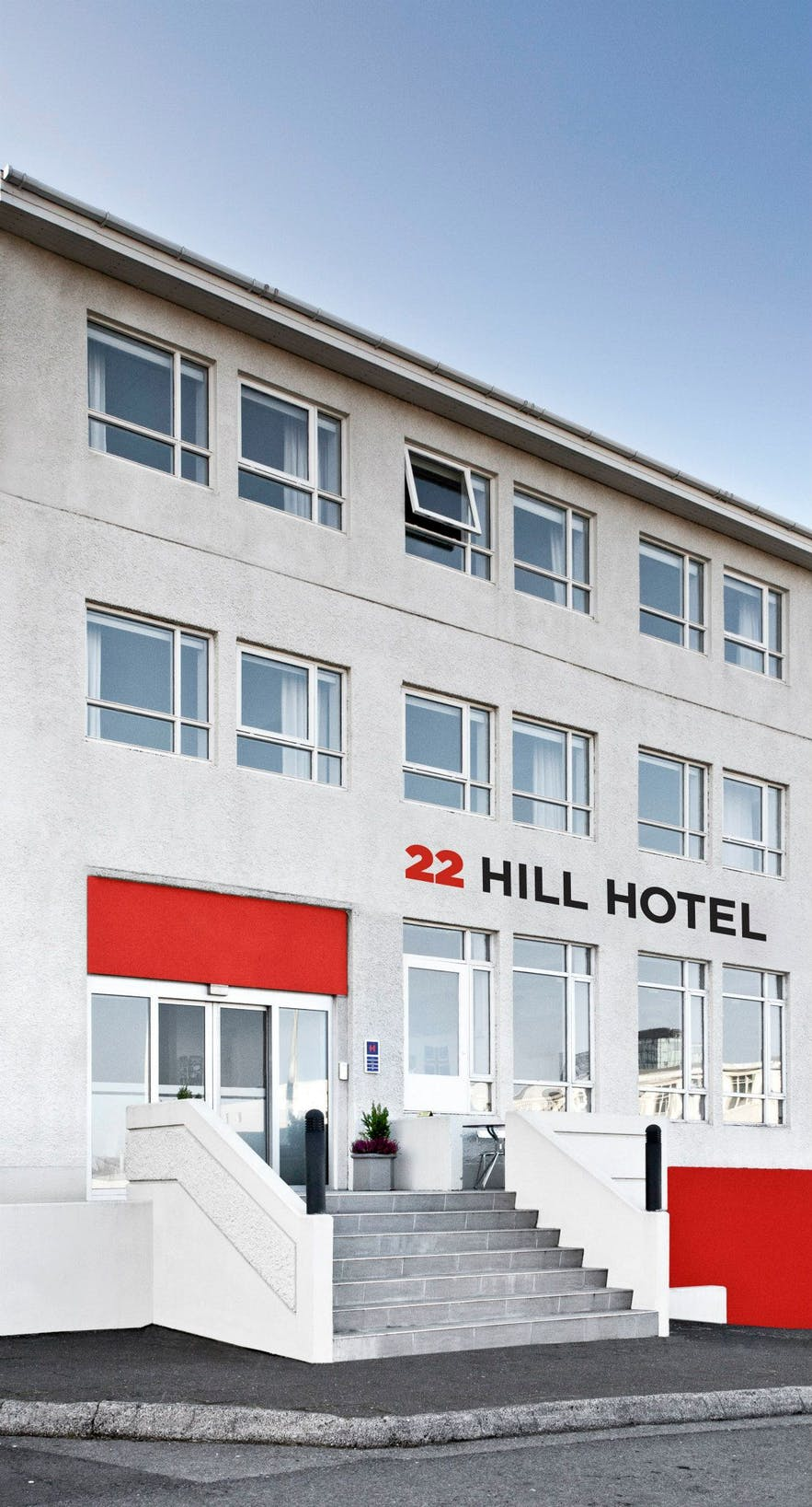 22 Hill Hotel is a little out of the downtown, but still within easy walking distance.