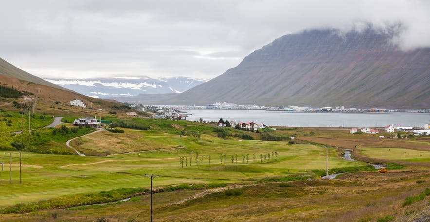 冰岛西峡湾伊萨菲厄泽Ísafjörður