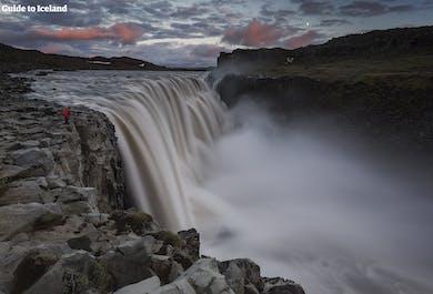 Dettifoss Waterfall with Flight from Reykjavik