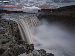 Cascade de Dettifoss | A la journée avec vol depuis Reykjavik