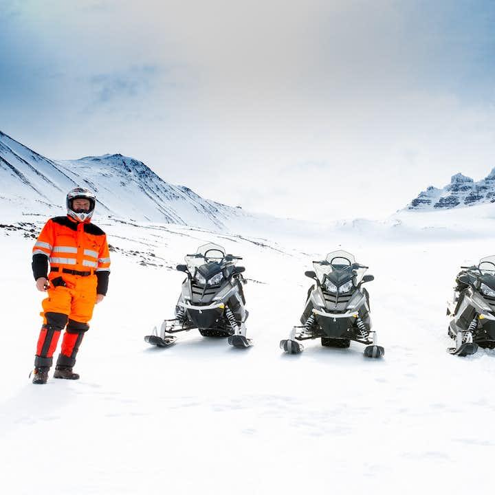 雪地摩托旅行团|北极圈下的冰原骑行,阿克雷里出发