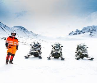 Sortie motoneige dans le Nord de l'Islande
