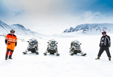 North Iceland Snowmobile Adventure
