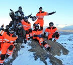 Depuis le glacier, vous verrez les fjords et villages du nord de l'Islande