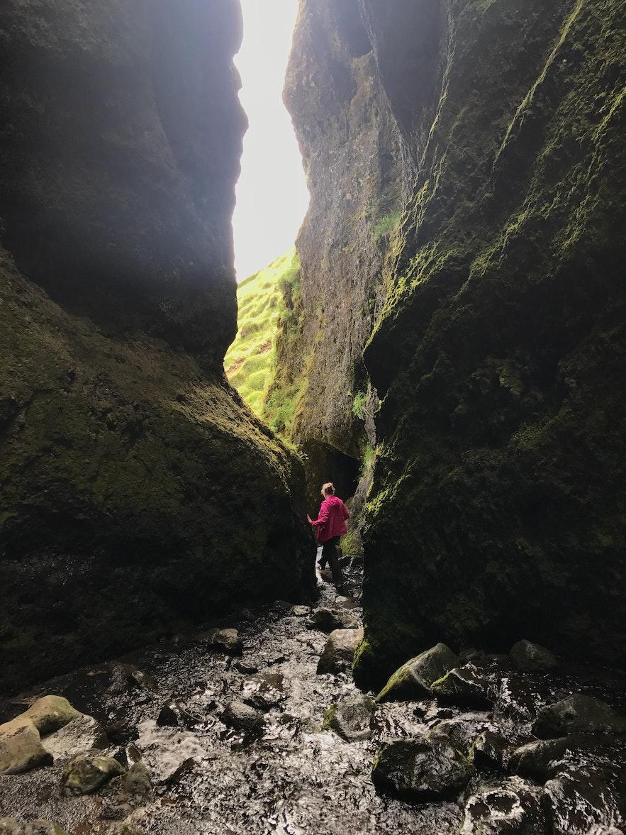 冰島西部Rauðfeldsgjá峽谷