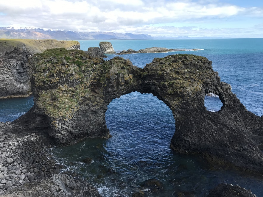 冰島Arnarstapi Arch