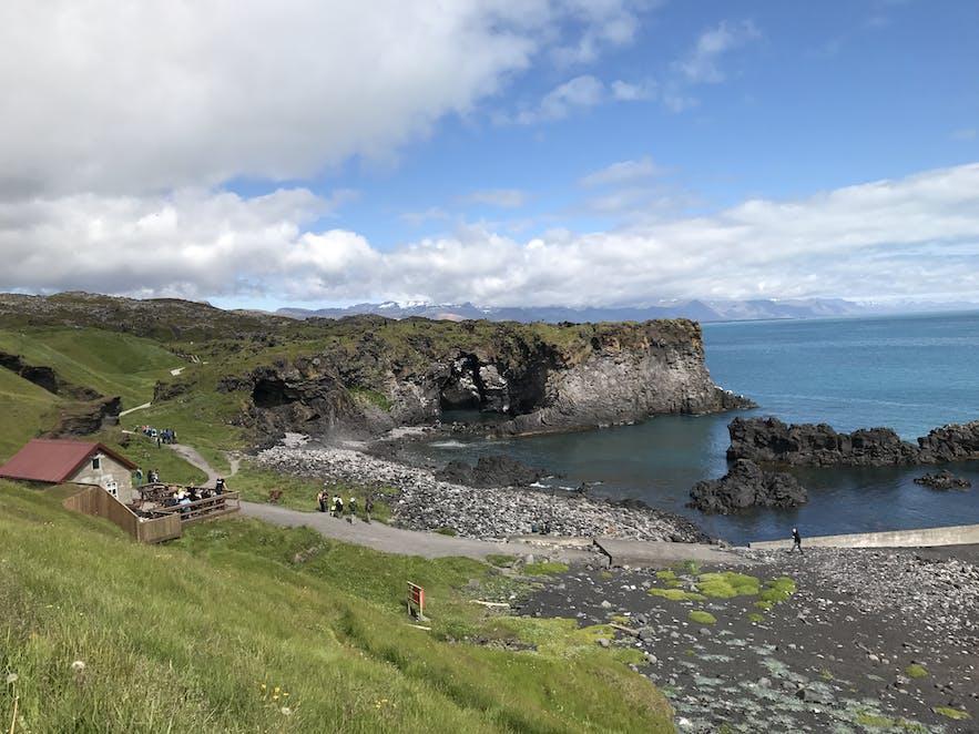 冰島西部Hellnar
