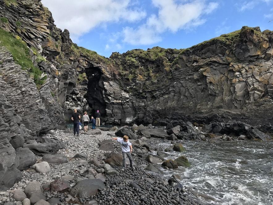 冰島Hellnar海邊
