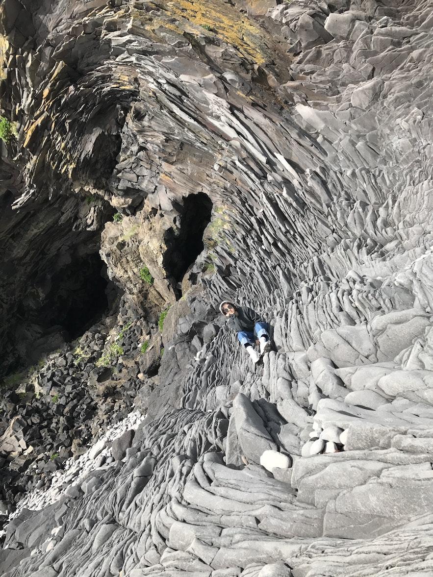 冰島Hellnar石山