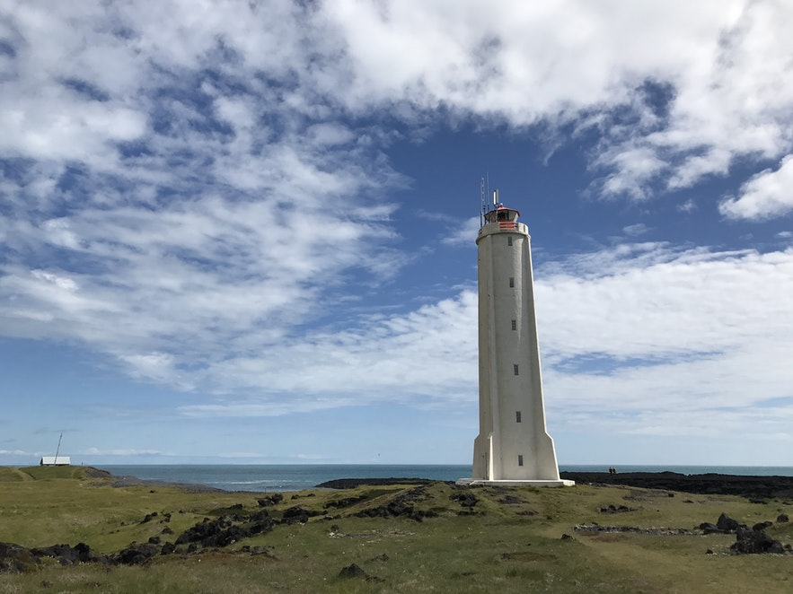 冰島Londrangar 燈塔