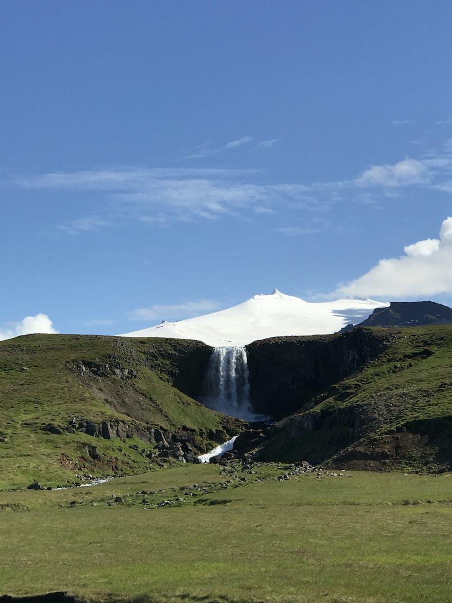 Svöðufoss 瀑布