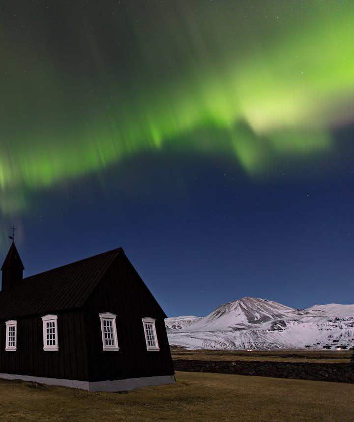 冰島布迪爾極光