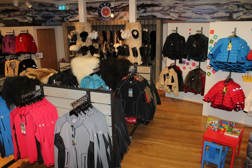 The interior of Icewear. Photo from Icewear.
