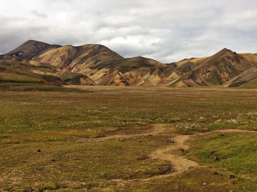 Ein malerischer Anblick bei Landmannalaugar