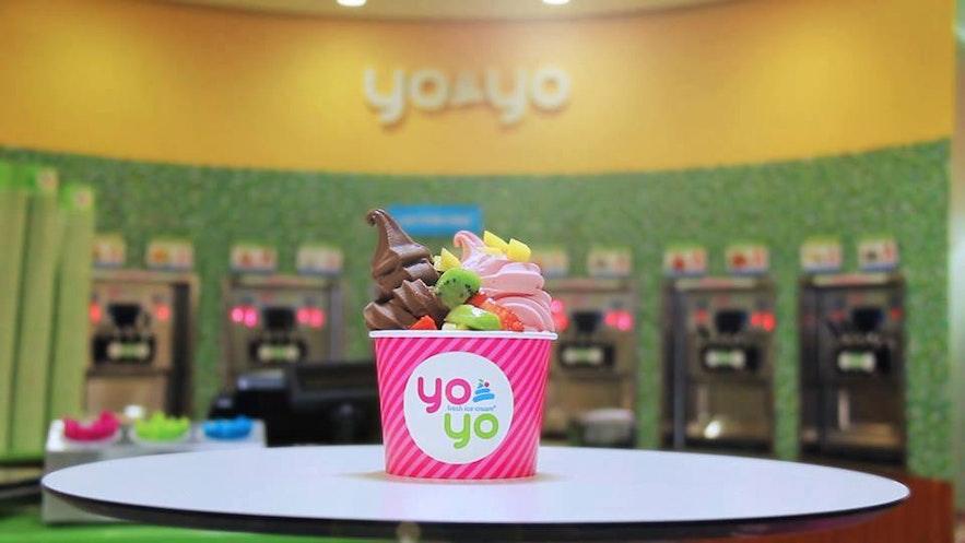 雷克雅未克Yoyo冰淇淋