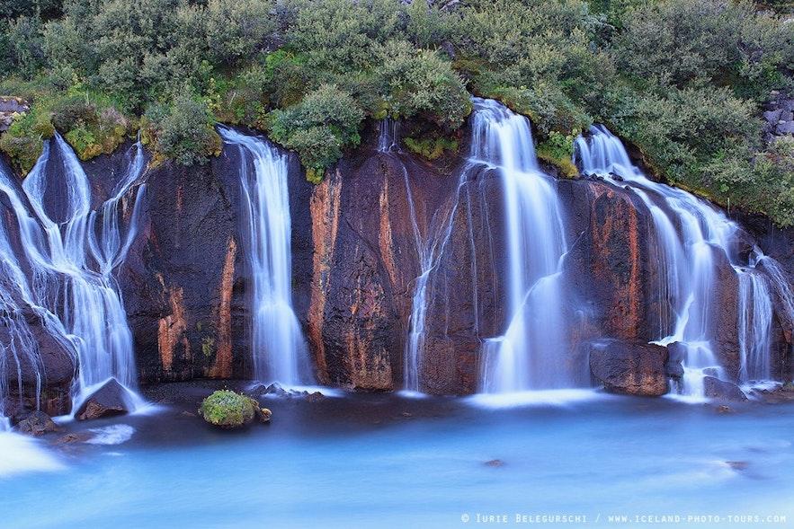 赫伦瀑布又名熔岩瀑布,不是一个瀑布,而是一个瀑布群