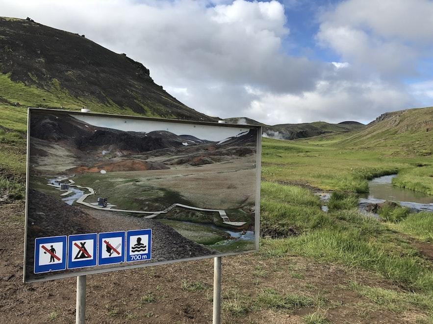 Reykjadalur 溫泉河