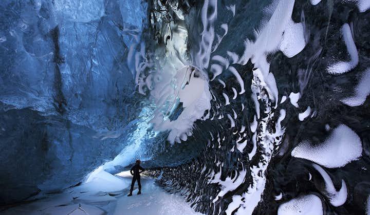 4-дневный тур с посещением ледниковой пещеры   Лагуна Йокульсарлон, северное сияние, Южное побережье