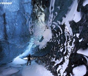 Paquete de 4 días en invierno | Cueva de hielo, Jökulsárlón, Auroras boreales y Costa Sur